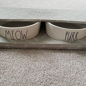 NWT Rae Dunn Pet Bowl Set